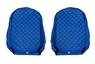 Чехлы на сидения SCANIA R,G,P, синие(6953)