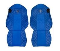 Чехлы на сидения SCANIA R,G,P, синие(6953) SCANIA
