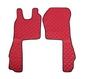 Ковры SCANIA R 2007-2016г, SCANIA P,G,T после 2007г, коробка ручная, красные(6944)