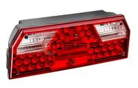 Фонарь задний ЕВРО 3 диодный под фишку правый для грузовиков(6961)