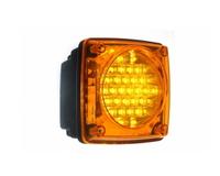 Фонарь задний диодный желтый для грузовиков(6970)