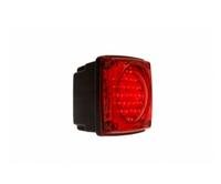 Красный диодный фонарь для грузовиков(6971)