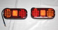 3-х секционный диодный задний фонарь для грузовиков(6977)
