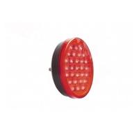 Круглый диодный задний фонарь красный для грузовиков(6979)