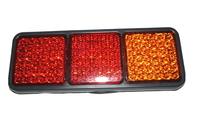 Фонарь задний диодный 3-х секционный (ж.к.к.) для грузовиков(6983)