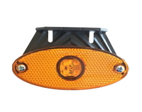 Овальный габаритный диодный фонарь для грузовиков(6991)