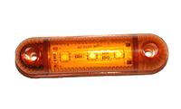Фонарь 3-х диодный желтый для грузовиков(6994)
