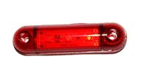 Фонарь 3-х диодный красный для грузовиков(6995)