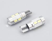 Светодиодная led лампочка 12В T10-5730-10 SMD CANBUS(7187)