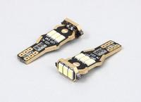 Светодиодная led лампочка 12В T10-5730-9 SMD CANBUS(7192)