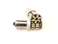 Светодиодная led лампочка 12В T4W-3014-30 SMD (7207)