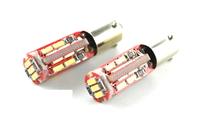 Светодиодная led лампочка 12В T4W-3014-19 SMD CANBUS (7214)