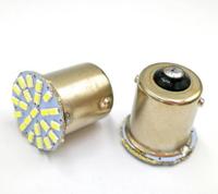 Светодиодная led лампочка 24В 1156-3014-22 SMD Одноконтактная Зеленый (7233)