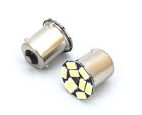 Светодиодная led лампочка 12В 1156-5730-9 SMD Одноконтактная (смещенный контакт) Желтый(7237)