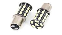 Светодиодная led лампочка 12В 1156-5730-27 SMD Одноконтактная(7272)