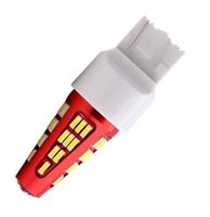 Светодиодная led лампочка 12/24В 7443-4014-48 SMD Безцокольная Двухконтактная Красный (7313)