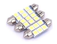 Светодиодная led лампочка 24В FS-5050-6 SMD 41 мм(7369)
