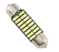 Светодиодная led лампочка 12В FS-4014-16 SMD 41 мм (7381)