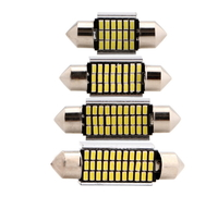 Светодиодная led лампочка 12В FS-3014-18SMD 31MM CANBUS драйвер (7388)