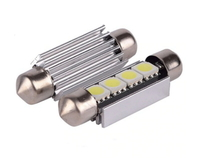Светодиодная led лампочка 12В FS-5730-4SMD 41MM CANBUS драйвер (7393)
