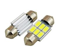 Светодиодная led лампочка 12В FS-5730-6SMD 31MM CANBUS драйвер (7394)
