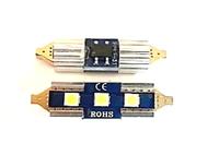 Светодиодная led лампочка 12В FS-3030-3 SMD 31MM CANBUS драйвер (7409)