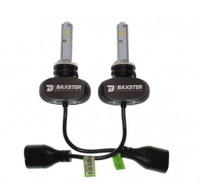 Светодиодные автолампы  BAXSTER S1 H3 6000K 4000lm с радиатором (7496)