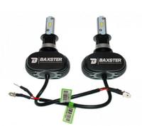 Светодиодные автолампы BAXSTER S1 H3 5000K 4000lm с радиатором  (7495)