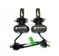 Светодиодные автолампы BAXSTER S1 H4 6000K 4000lm с радиатором (7498)