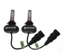 Светодиодные автолампы BAXSTER S1 HB3(9005) 6000K 4000lm с радиатором (7503)