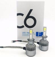 Светодиодные автолампы C6 HeadLight H3 12v COB (7508)