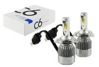 Светодиодные автолампы C6 HeadLight H4 12v COB (7509)