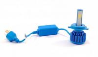 Светодиодные автолампы F7 SuperLed H4 12-24V chip COB (вентилятор) (7522)