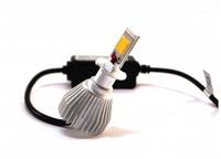 Светодиодные автолампы ламп F8 H3 12-24V COB (радиатор) (7528)