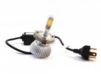 Светодиодные автолампы ламп F8 H4 12-24V COB (радиатор) (7529)