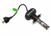 Светодиодные автолампы Model S1 H4 6000K 4000lm с радиатором (7543)
