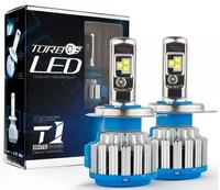 Светодиодные автолампы TurboLed T1 H4 6000K 35W 12/24v CanBus с активным охлаждением(7551)