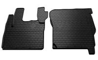 DAF CF 2000-2013 Комплект из 2-х ковриков Черный в салон (7560) DAF