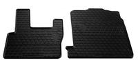 DAF XF105 2005-2013 Комплект из 2-х ковриков Черный в салон (7566) DAF