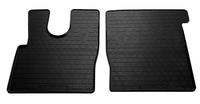 DAF XF (EURO 6) 2013- Комплект из 2-х ковриков Черный в салон (7569) DAF