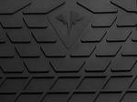 SCANIA R 2009-2013 Передний правый коврик Черный в салон (7613)