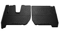 IVECO Stralis 2007-2012 Комплект из 2-х ковриков Черный в салон (7572) IVECO
