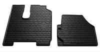 MERCEDES-BENZ ACTROS Mp3 2008- Комплект из 2-х ковриков Черный в салон (7596) MERCEDES-BENZ