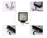 Дополнительная Led фара Allpin Lite 48 Вт, 16 диодов по 3Вт(7599S48L)