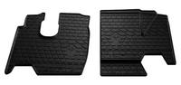 MERCEDES-BENZ ATEGO 2005- Комплект из 2-х ковриков Черный в салон (7603) MERCEDES-BENZ