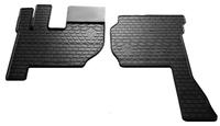 VOLVO FH 2012- Комплект из 2-х ковриков Черный в салон (7621) VOLVO