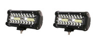 Светодиодные дополнительные фары Allpin 60 Вт комплект 2 шт. Combo (7645C60)