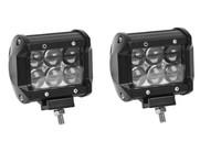 Светодиодные дополнительные фары Allpin 18 Вт Spot комплект 2 шт.(7651S184D)