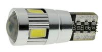 Светодиодные автолампы Cyclone T10-062 CAN 5630-6 12V SD (7725)