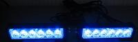 Стробоскопы синие S5-6 LED Federal signal -12В(7800)